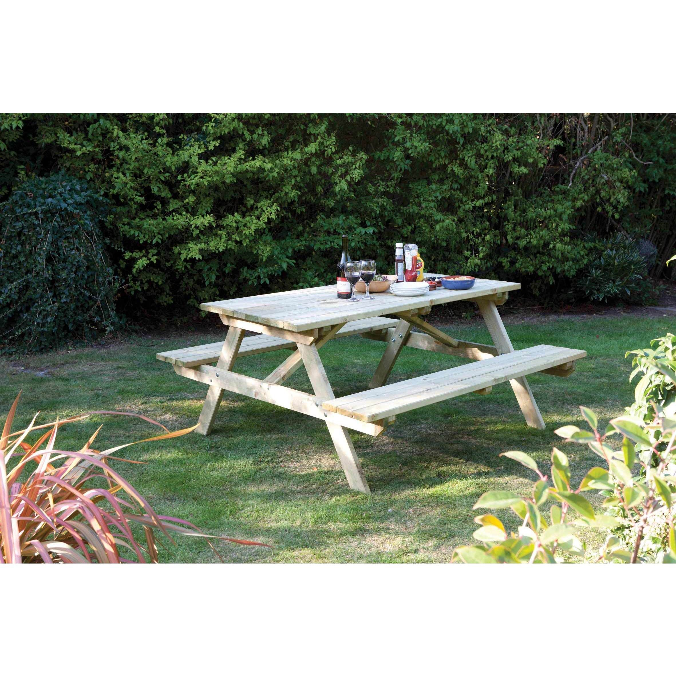 Overstock Com Online Shopping Bedding Furniture Electronics Jewelry Clothing More Picnic Table Wooden Garden Furniture Picnic Bench