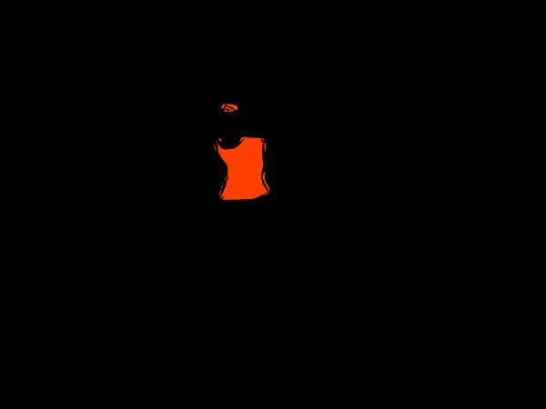 片足をボールに乗せて立っている人のイラスト 健康鍛錬 Health