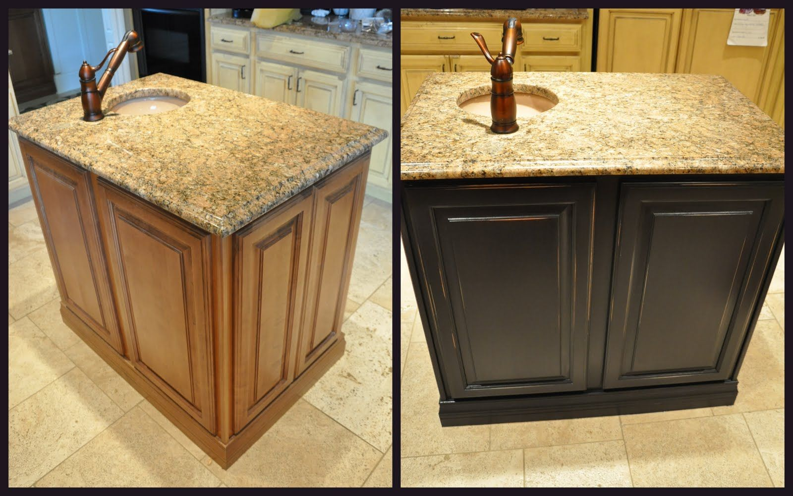 Perfect Painting Kitchen Cabinets Black With Cabinets Furniture ...