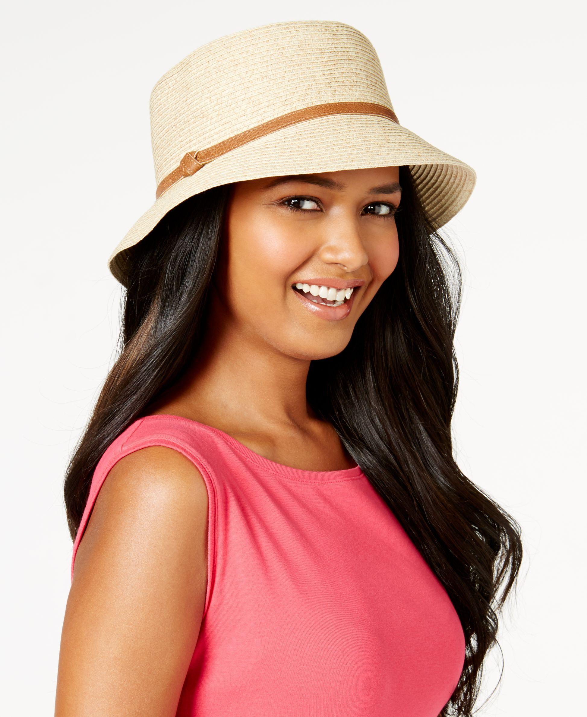 7615cdc5ac8533 Nine West Packable Microbrim Hat | Products | Hats, Handbag ...