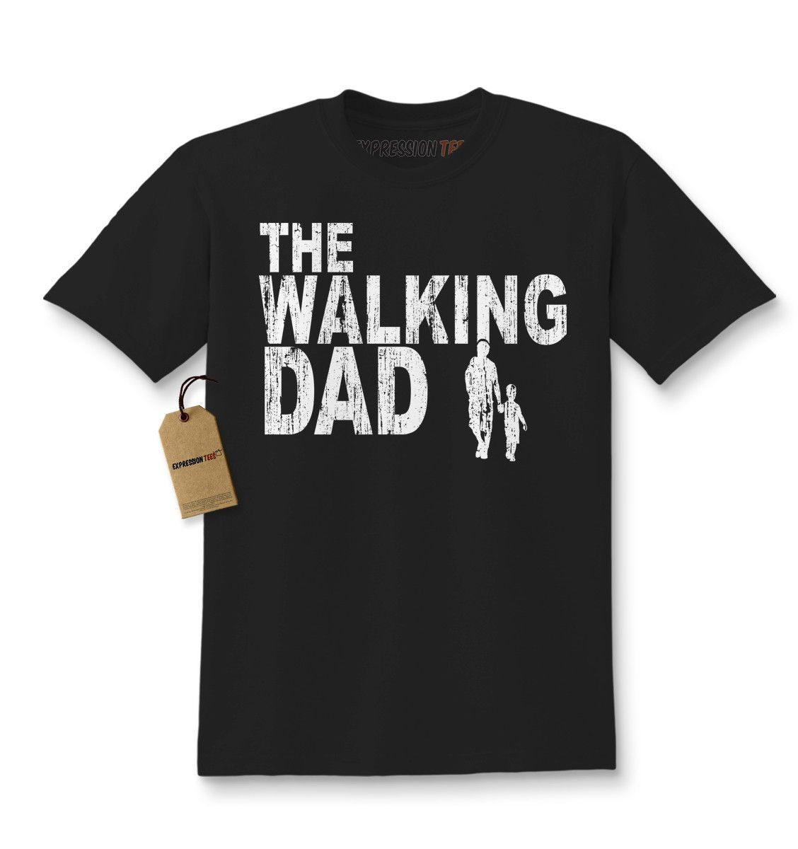 The Walking Dad Father S Day Youth T Shirt The Walking Dad Kids Tshirts Feminist Kids