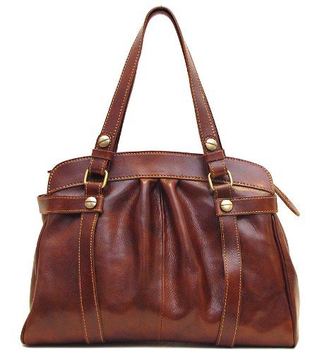 Women S Shoulder Bags Floto Milano Bag In Vo Brown Italian Calfskin Leather Click Image To Review More Details