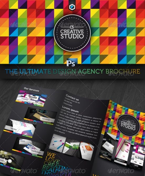 Brochure Templates Digital Pinterest Brochure Template - Cool brochure templates