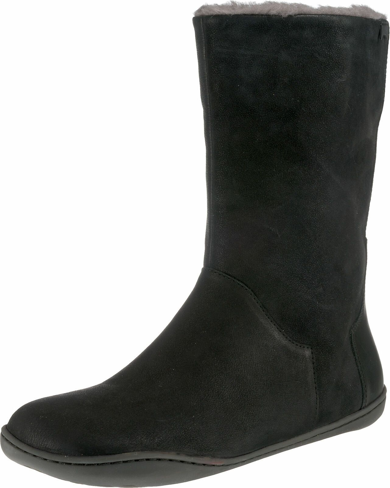 893616 Damen Worker Boots Warm Gefütterte Stiefel Profil Winterstiefel New Look