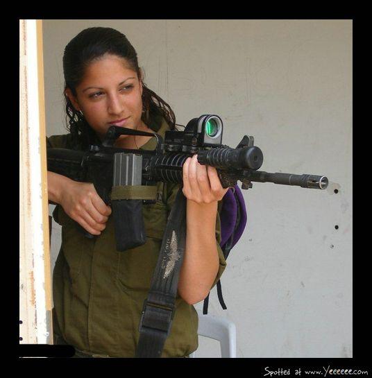 Beautiful Israeli Women Soldiers Part 1 | Art | Idf women ...