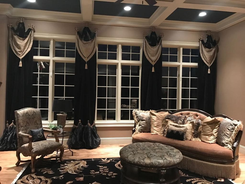 Old World Home Decor Furnishings By Reilly Chance Collection Window Treatments Living Room Living Room Drapes Tuscan Style