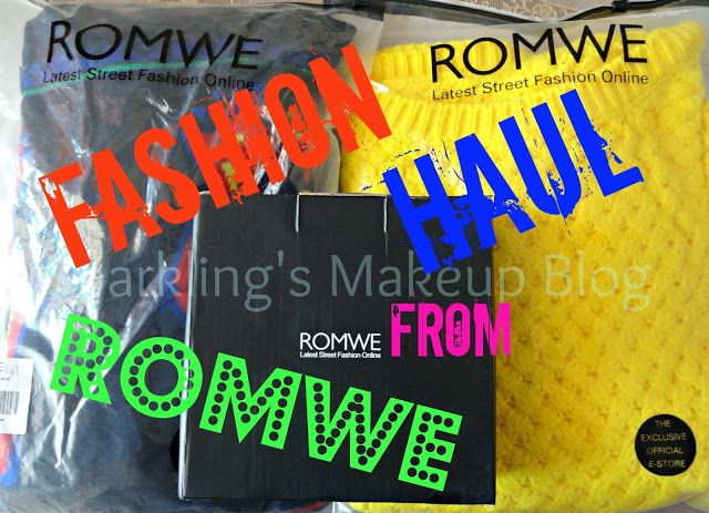 Sparklings Makeup Blog: Fashion Haul from Romwe~ Winter clothing and Jewelry