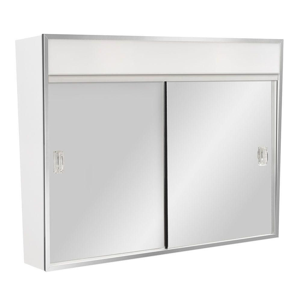 50 Lighted Bathroom Medicine Cabinet Top Rated Interior Paint Check More At Http 1coolair Pinterest