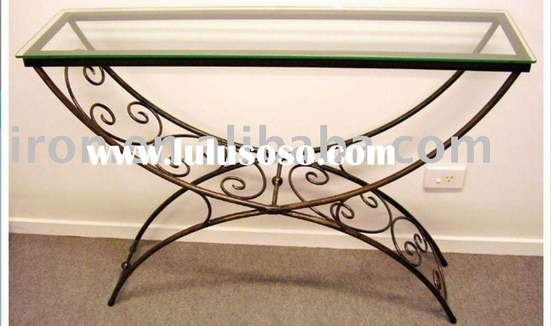 Wrought Iron Table Bases For Glass Tops Google Search