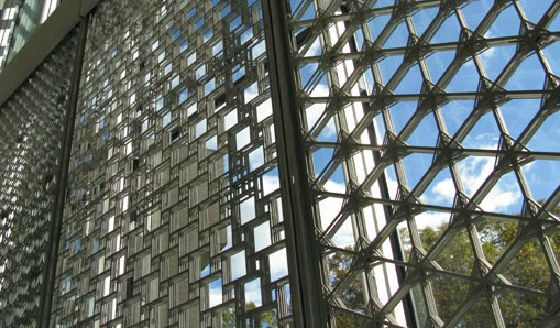Dynamic Facade With Multilayer Panel Metal And Glass