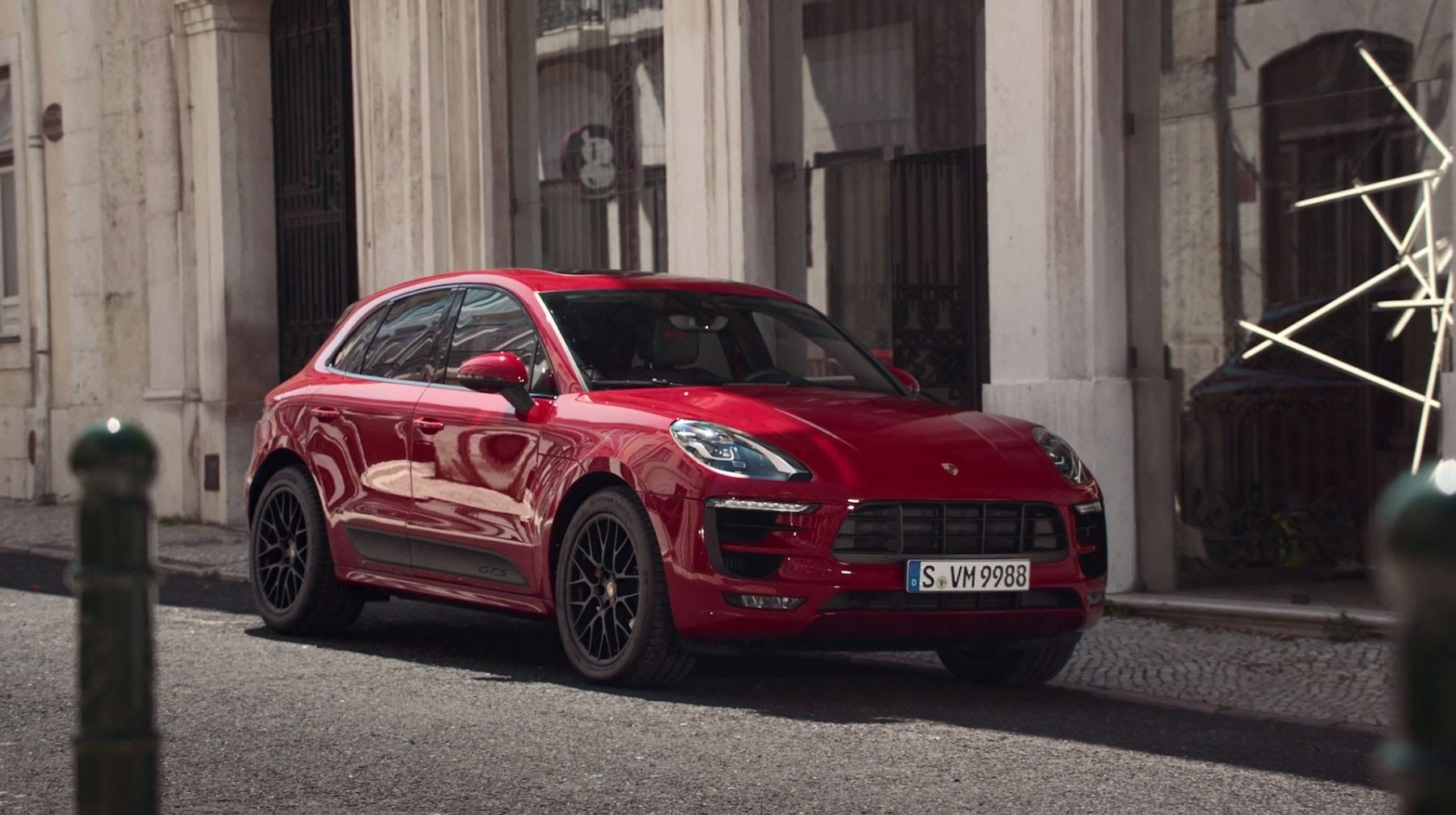 The Remote Services Of The New Macan Gts Porsche Ad Commercial