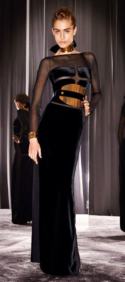Tom Ford fall 2012 - i swear if i could wear one designer for the rest of my life it would be him...gorgeous.