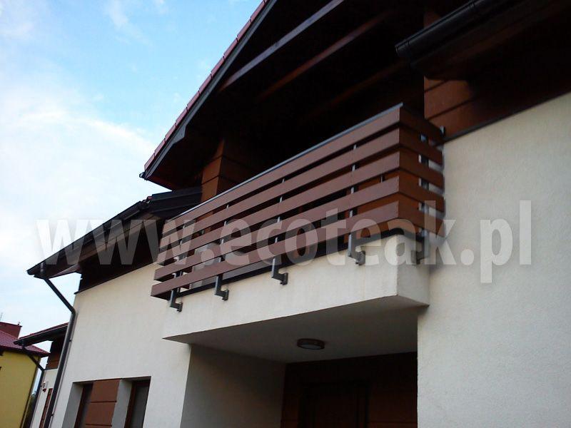 Aktualne Znalezione obrazy dla zapytania nowoczesne drewniane balustrady PG88
