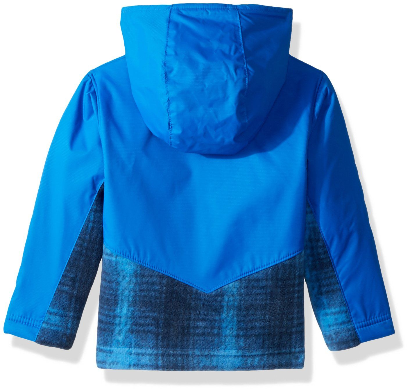 94191d76a Columbia Kids and Baby Toddler Steens Mt Overlay Hoodie Super Blue Twill  Plaid 4T -- Need to know extra, click on the image. (This is an affiliate  link).
