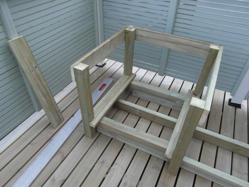 Byggmax-projekti osa2: Kukkalaatikko+penkki step-by-step | Talo Rautio