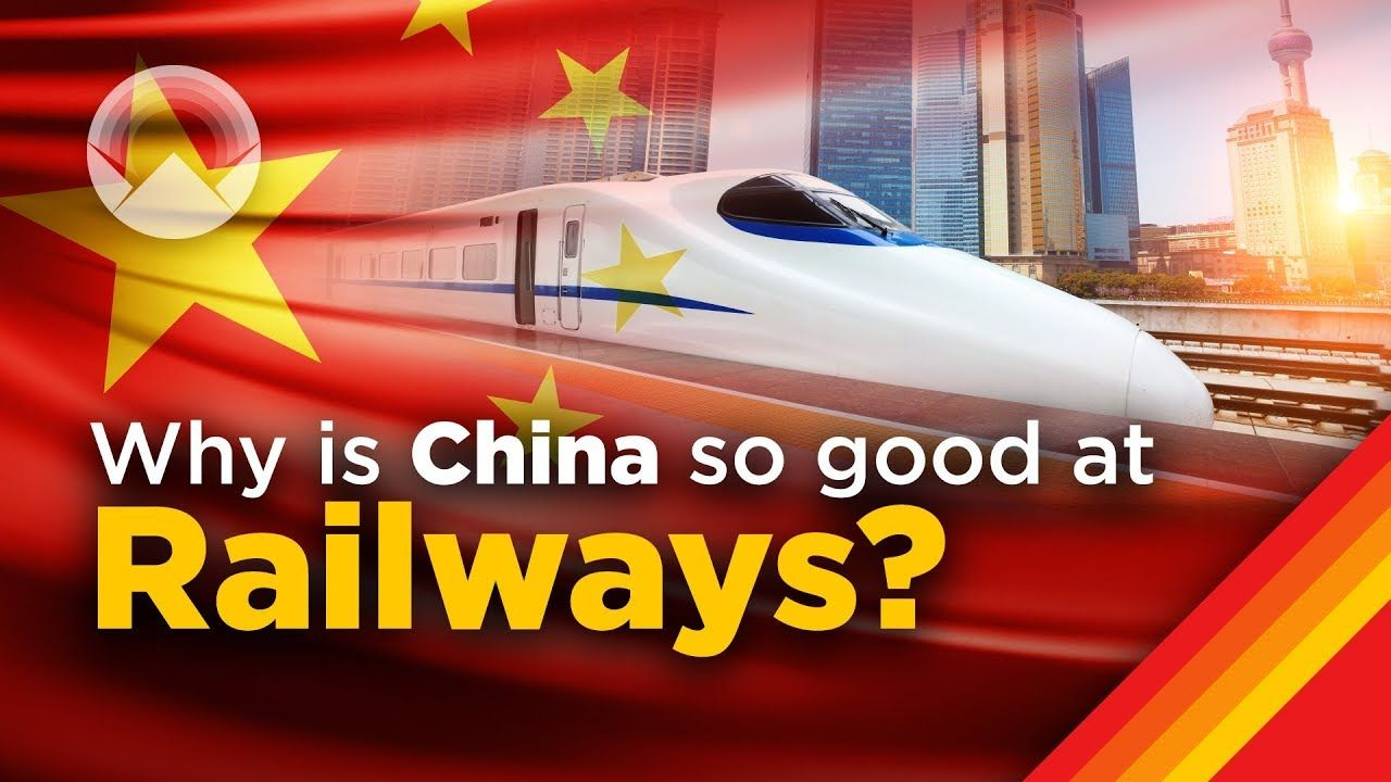 Why China Is So Good At Building Railways Youtube Railway Wendover China