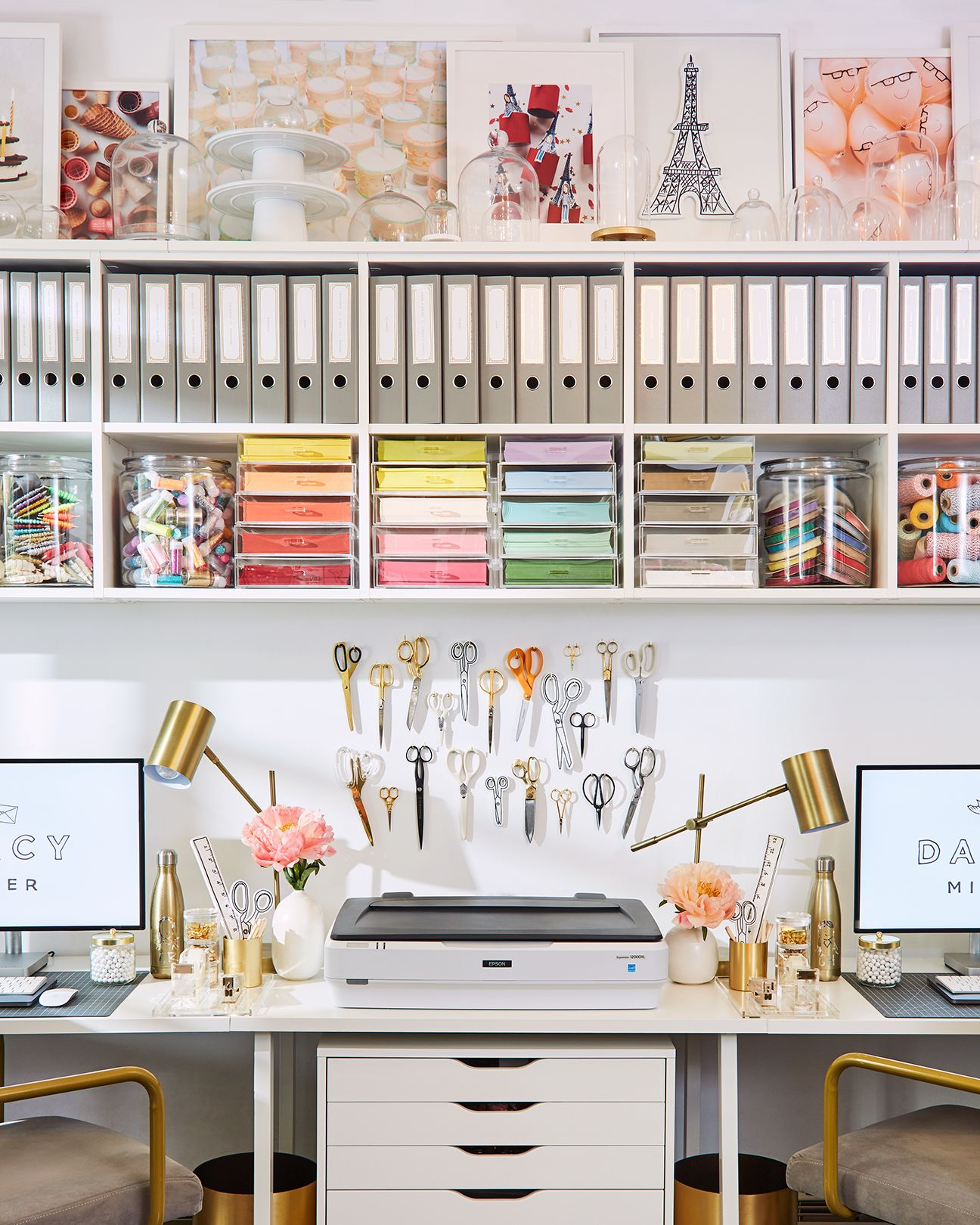 Photo of Go Inside Darcy Miller's Colorful, Whimsical New York City Studio—a Space 25 Years in the Making