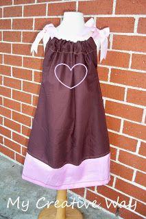 DIY Pillowcase Dress Tutorial. No ARMholes to cut out! If you can sew a & DIY Pillowcase Dress Tutorial. No ARMholes to cut out! If you can ... pillowsntoast.com
