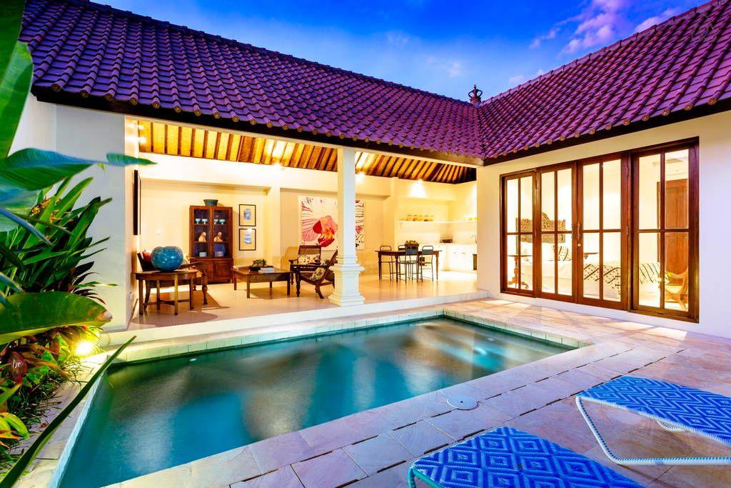 Villa Atma 5mins To Seminyak Center Villas For Rent Small Villa Bali House Villa Design