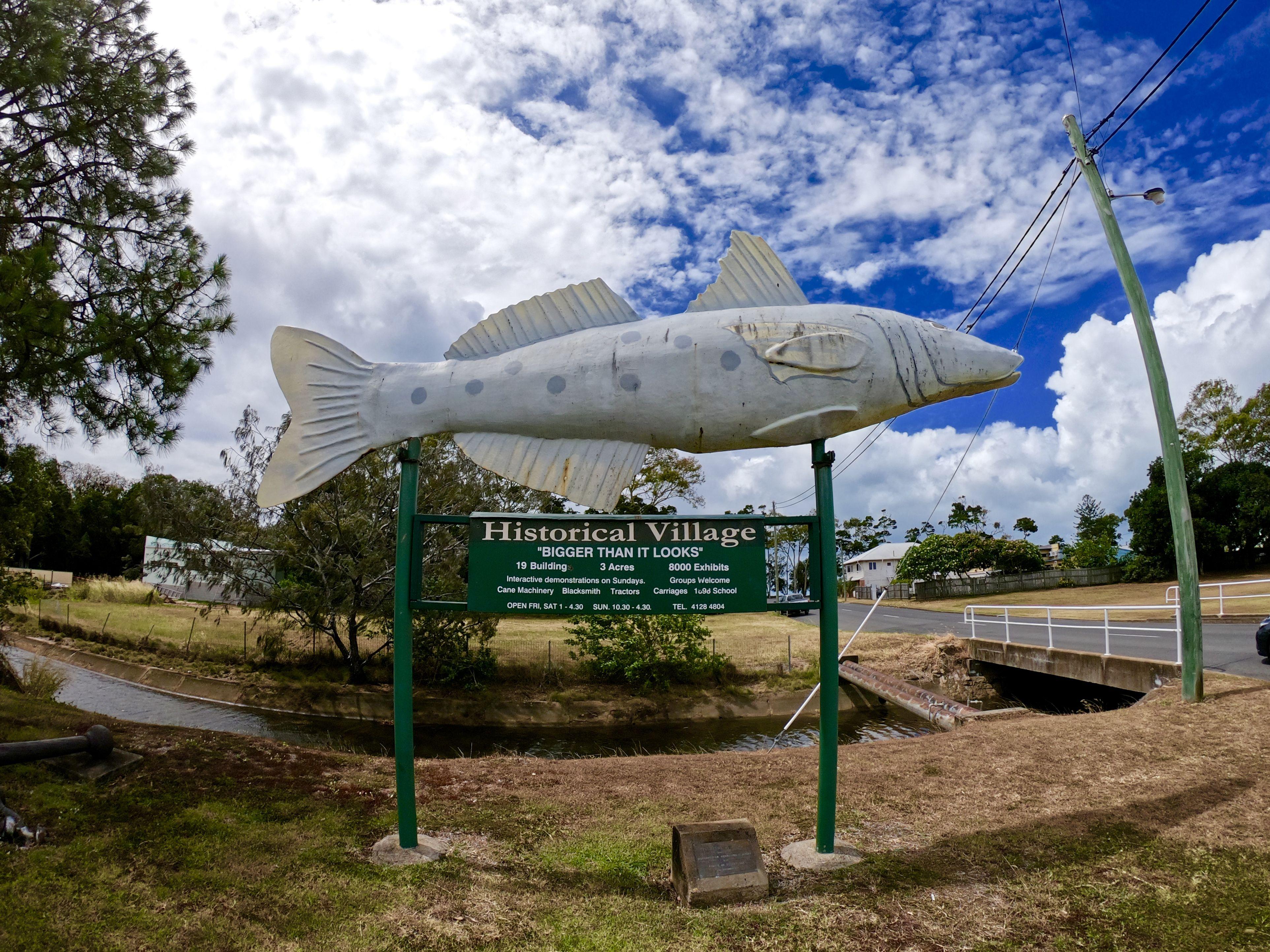 150 Big Things In Queensland List Printable Pdf Hervey Bay