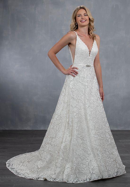 Wedding dress model MB3057 by Mary's Bridal.