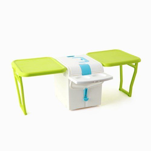 IMOTANI WING Camping Outdoor Ice Cooler Folding Table Utensils Not Included  *** Continue To