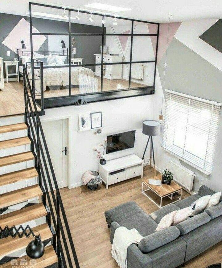 Minimalist loft | Dream Home | Pinterest | Innentreppen, zukünftiges ...