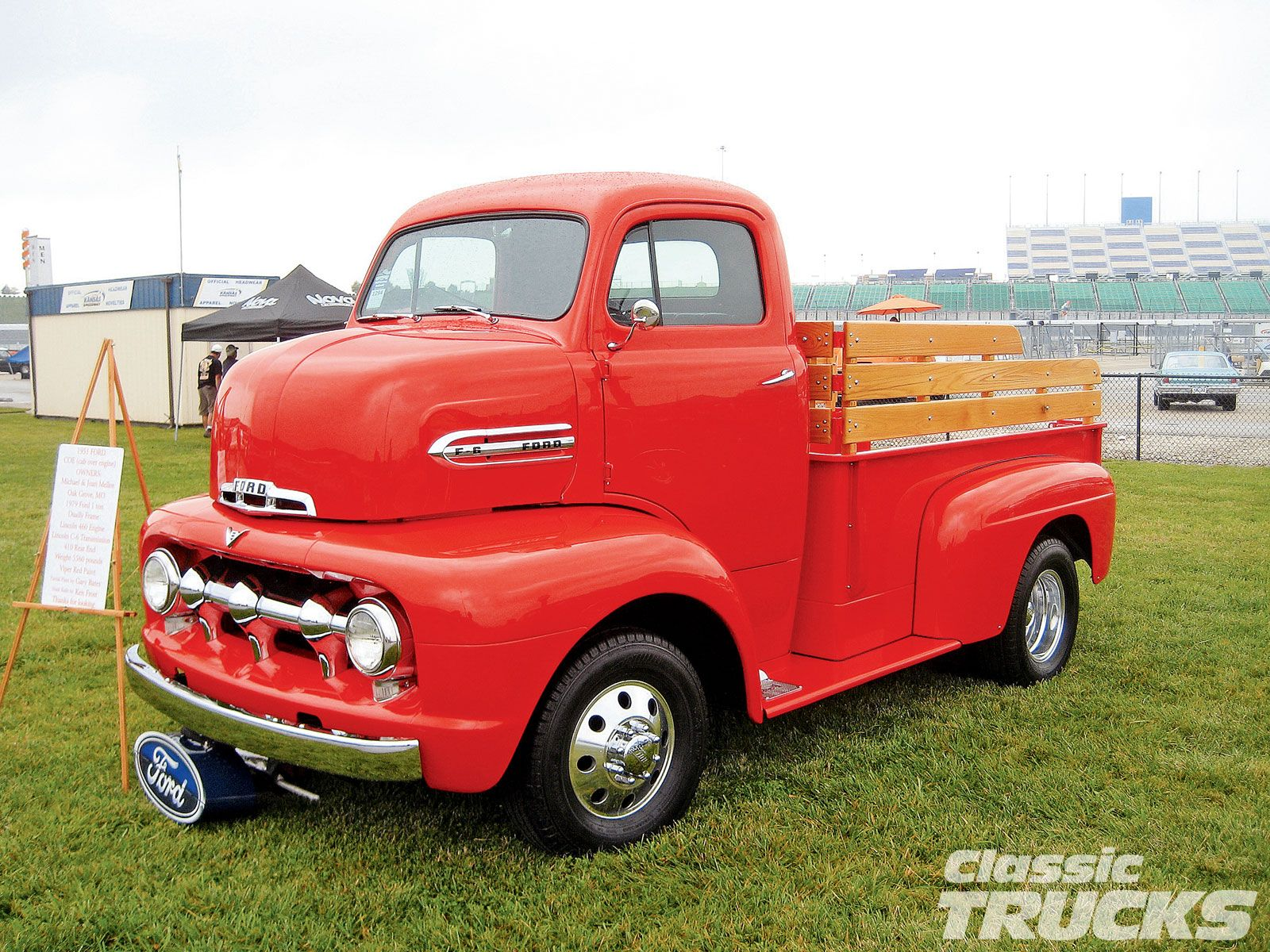 Sweet old custom ford cabover