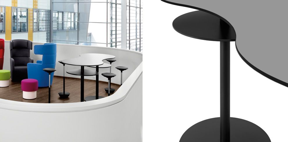 T-Meeting Stand Up Table - Bene Office Furniture | Office design ...