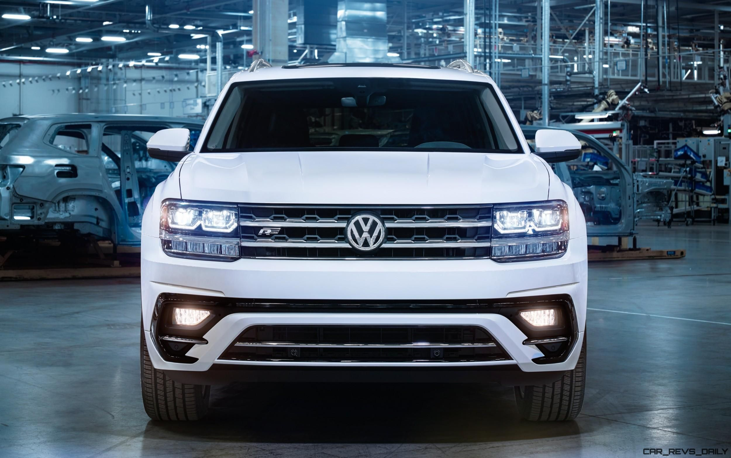 2018 Vw Atlas R Line First Look Arrives May 2017 To Usa Showrooms Volkswagen Touareg Central Wiring Harness Single Parts A
