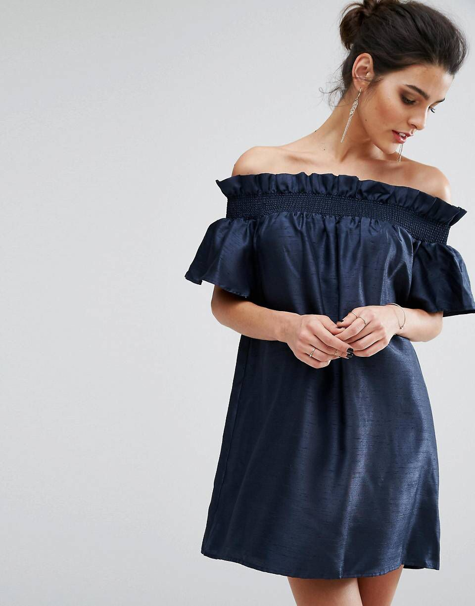 Asos wedding day guest dresses  LOVE this from ASOS  Wedding outfit  Pinterest
