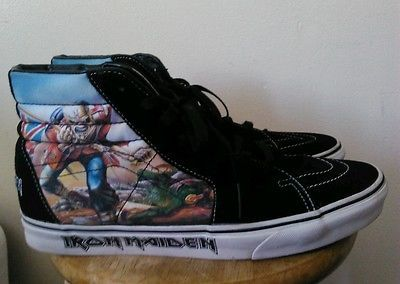 30f1277c78 Iron Maiden Vans Men s Skateboarding Shoes size 12