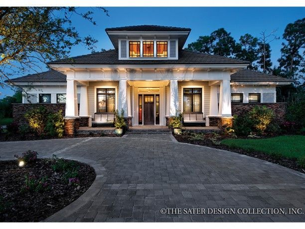 Prairie House Plan With  Square Feet And  Bedrooms From Dream Home Source House Plan Code Dhsw