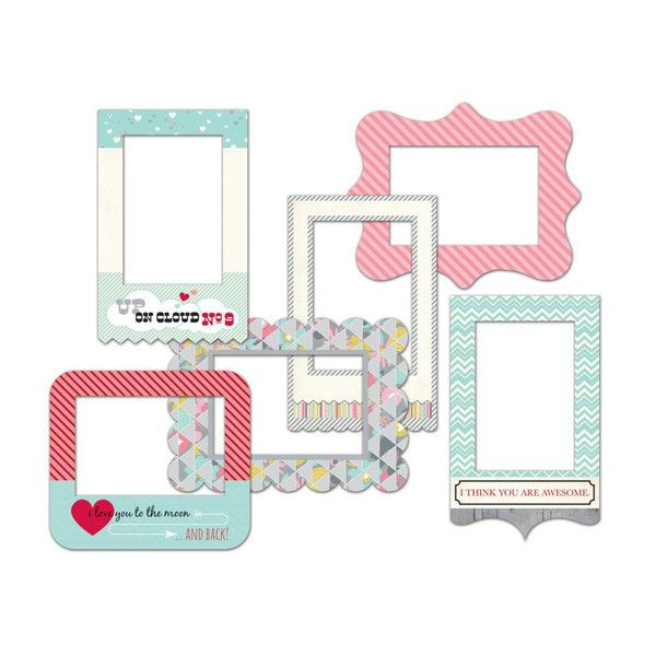 Patterned Photo Frames Fancy Pants Be Loved