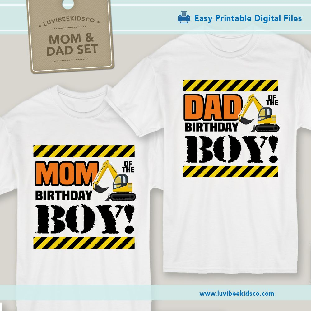 Free construction birthday party printables. Construction party ...