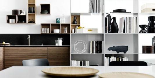 NocetattileModernkitchenshelf2jpg 533 267 – Modern Kitchen Shelves