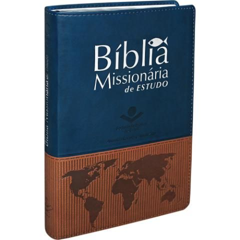 Biblia Missionaria De Estudo Livro Cristao Livros Da Biblia E