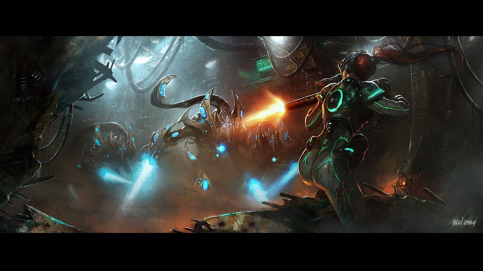Starcraft kerrigan rule free wallpapers