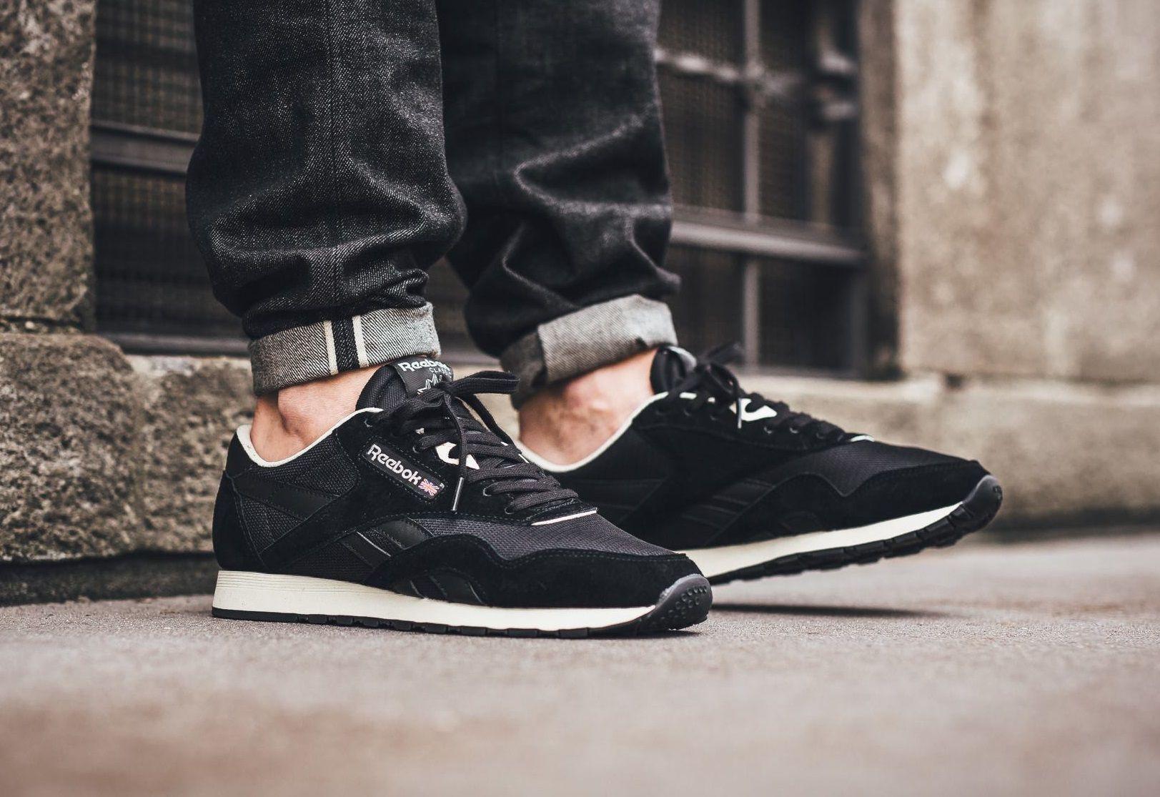 Pin on Sneakers: Reebok Classic Nylon