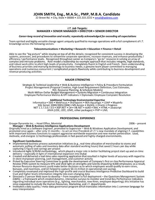 Click Here to Download this Senior Manager Resume Template!   - management resume templates