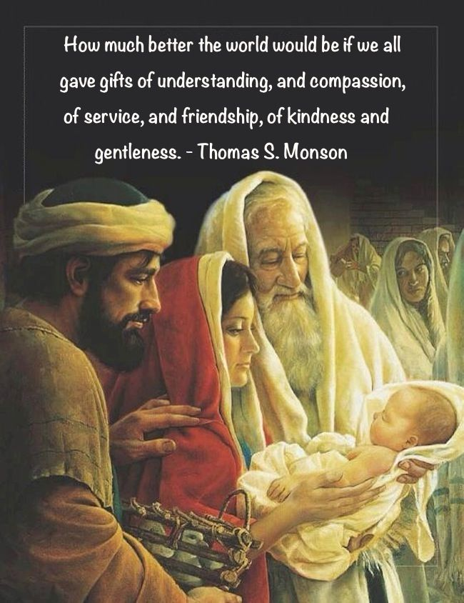 How much better the world would be if we all gave gifts of understanding, and compassion, of service, and friendship, of kindness and gentleness. - Thomas S. Monson