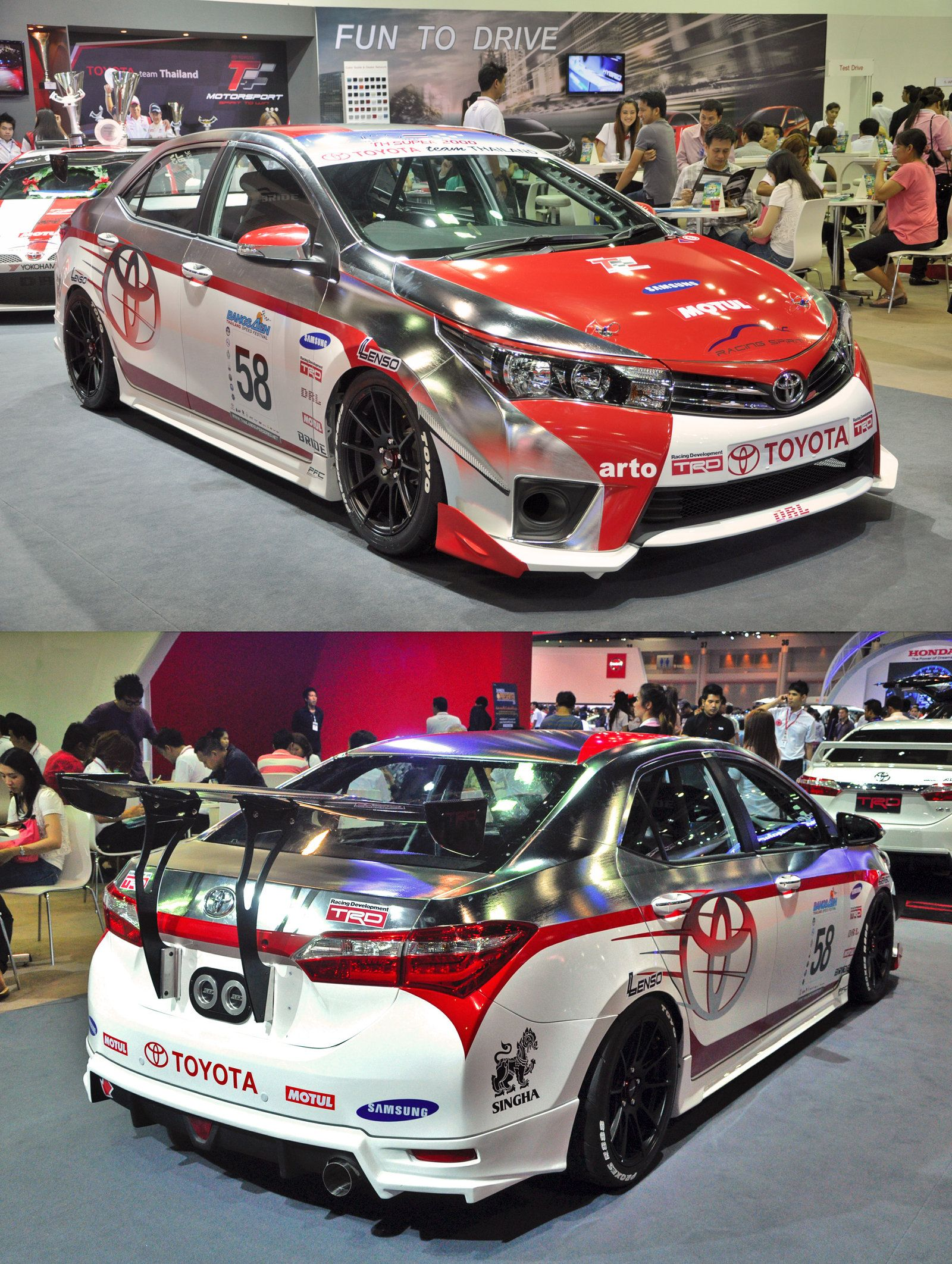 Toyota Corolla Altis Saloon Race Car From The 35th Bangkok International  2014 15 (by Zynos958 On DeviantART )