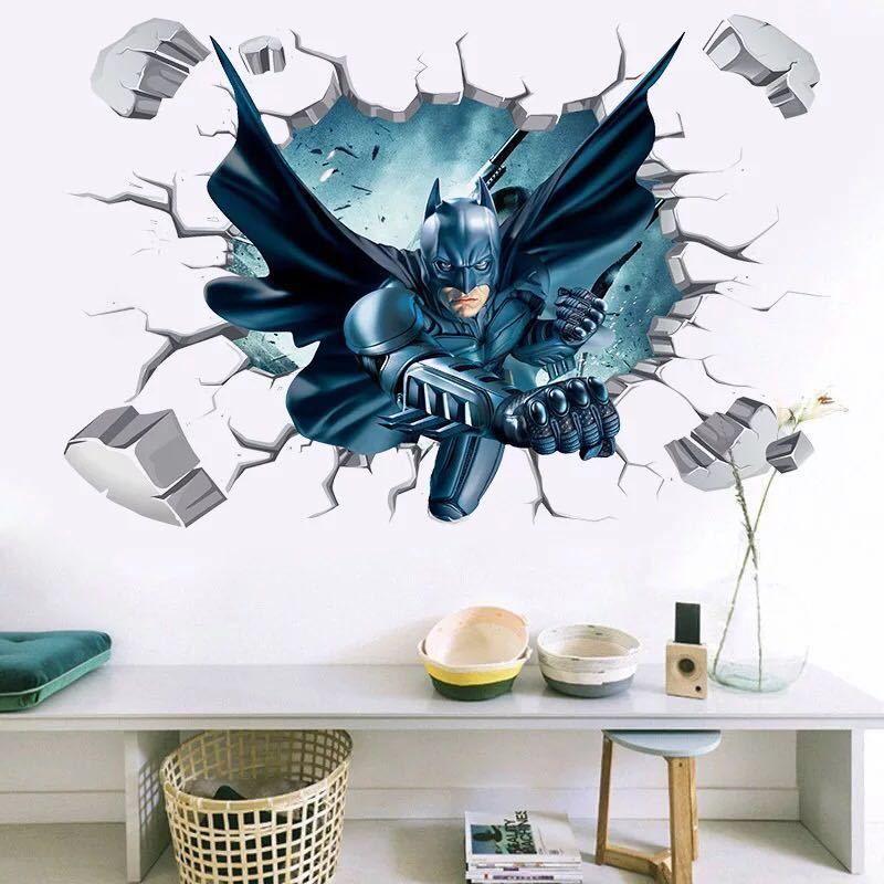 3D Batman Wall Stickers