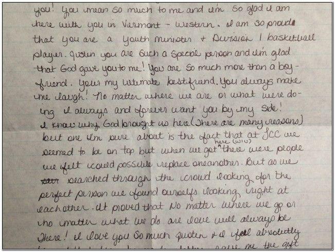 Happy Birthday Boyfriend Letter Love For Best Romantic Sample