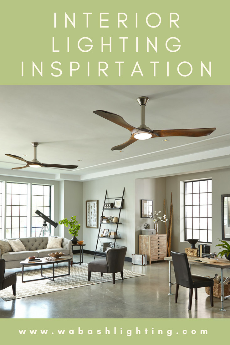 We Are Your Go To For Interior Lighting Solutions In Northern Indiana Visit Www Wabashlighting C Living Room Ceiling Fan Living Room Ceiling Wood Ceiling Fans