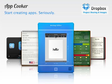 App cooker design mockup prototype draft or wireframe app app cooker design mockup prototype draft or wireframe app interfaces for ipad malvernweather Choice Image