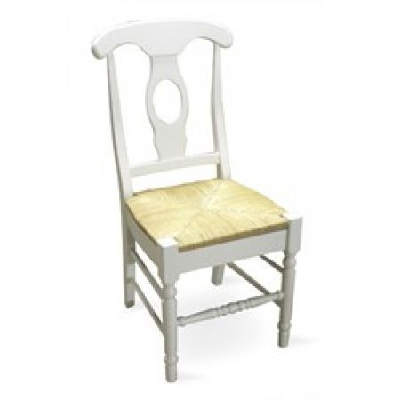 Empire Chair With Rush Seat