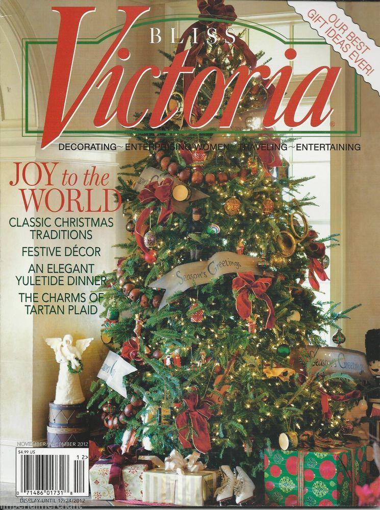bliss victoria magazine christmas classic traditions festive decor tartan plaid - Christmas Classic
