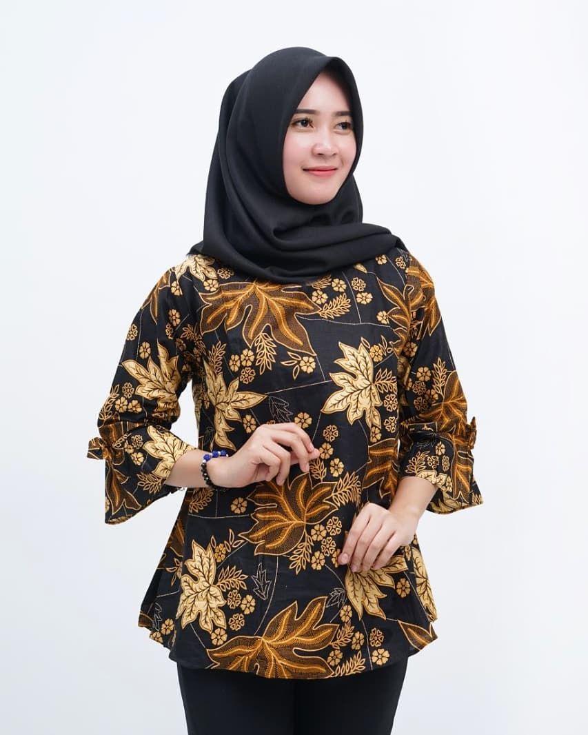 Model Baju Batik Anak Perempuan 2019