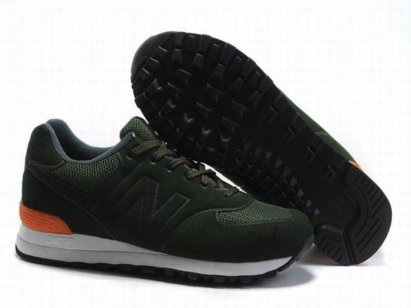 Sonic Shoes Balance Green Joes Orange White Mens New Ms574 W29IEDH